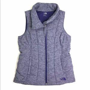 [The North Face] Heathered Grape Vest Size Medium